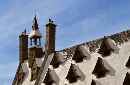 The Wizarding World of Harry Potter Hogsmeade Village Rooftop