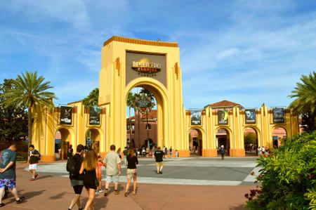 The Universal Orlando Resort adventure theme park in Orlando