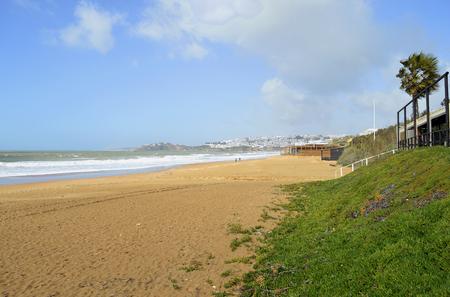 Albufeira Beach on the Algarve coast of Portugal