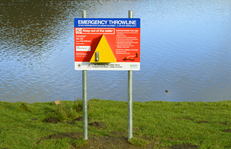 Dovestone Reservoir emergency equipment provided for emergencies