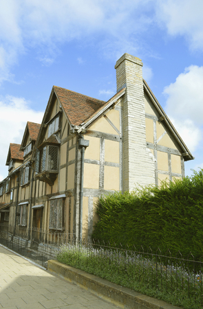 William Shakespeares Birthplace in Stratford-upon-Avon