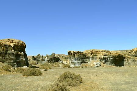 Rofera de Teseguite rock formations in Lanzarote
