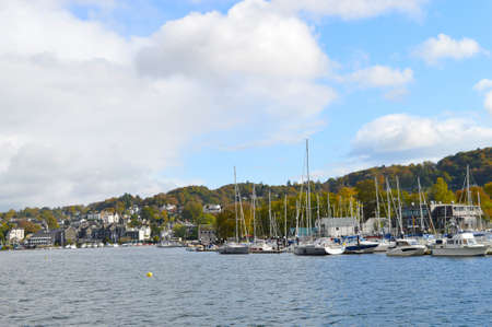 Bowness-on-Windermere is a town on the bank of Lake Windermere in Cumbria