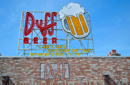Duff is Homer Simpson's beer of choice in Springfield. Editorial