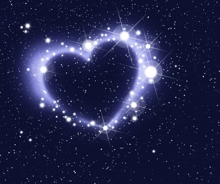world peace: Heart of stars
