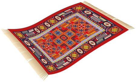 Magic Carpet Vector