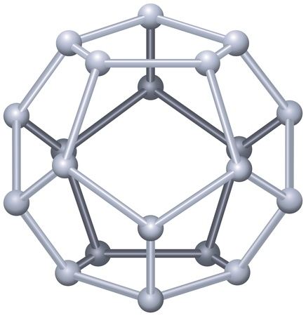 polyhedron: Dodecahedron - A Platonic Solid In Geometry