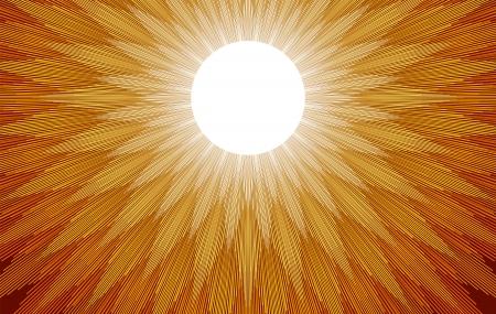 Sun Rays Stock Vector - 22773484