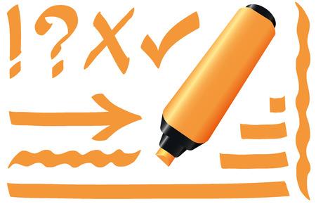 highlight: Orange highlighter
