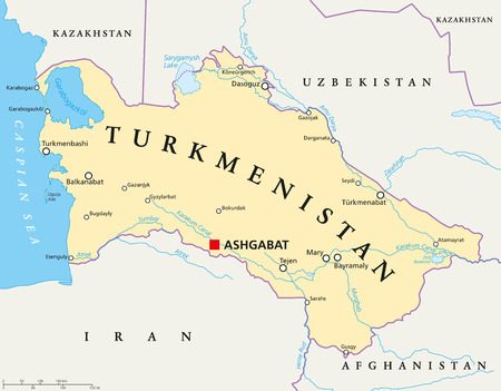 Turkmenistan political map with capital ashgabat national borders turkmenistan political map with capital ashgabat national borders royalty free cliparts vectors and stock illustration image 63925915 sciox Choice Image