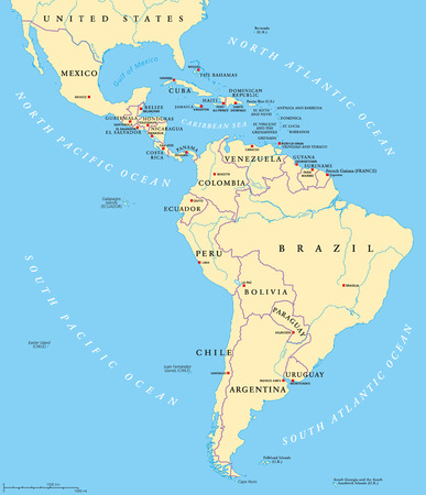 Latin America Subregions Map The Subregions Caribbean North