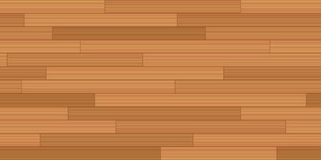 Plank vloer parket - vector illustratie van vintage parket patroon met houten textuur - naadloos uitbreidbaar in alle richtingen.