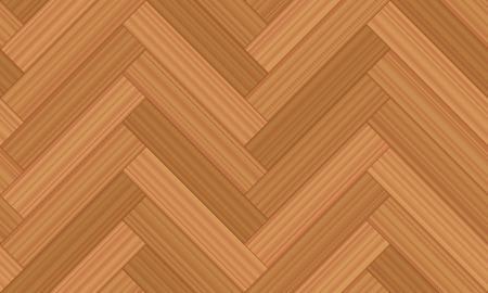 wooden floor: Herringbone parquet - vector illustration of geometric wooden floor pattern - seamless extensible in all directions. Illustration