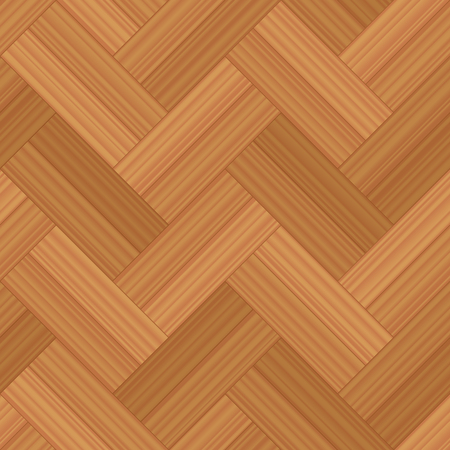 Herringbone parquet double row - vector illustration of a typical wooden flooring pattern - seamless extensible in all directions. Illustration