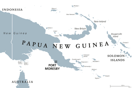 Indonesia political map with capital jakarta islands neighbor guinea political map with capital port moresby english labeling independent state on eastern half of island of new guinea with islands in melanesia publicscrutiny Choice Image