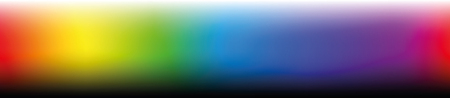 Color bar, horizontal format - gradients in different saturation from light to dark - work tool for graphic design artists - vector illustration. Ilustração
