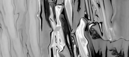silver - mercury looking background with shinny reflection with copy space