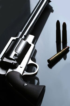 do we need a gun law? close up of a gun