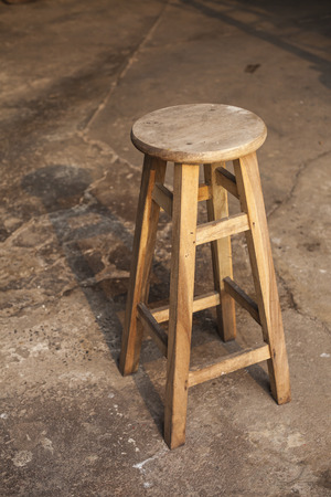 Wooden Bar Stools photo