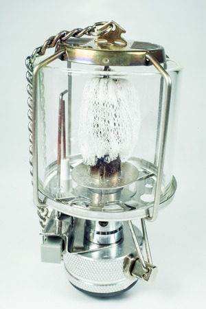 kerosene: Gas lamp isolated on a white background