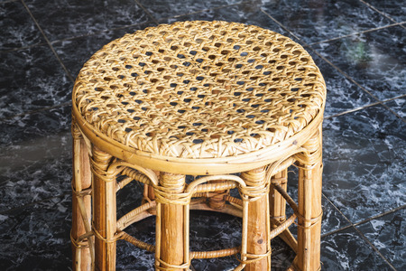 Wicker chair Thailand handmade photo