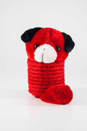 snugly: red dog  -