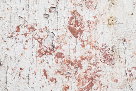wall paint: Old wooden wall paint peeling  Stock Photo