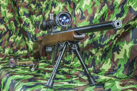 carbine: .22 LR  carbine Bolt action rifle