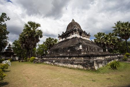 mimo: Eso Mak Mo Norte, Luang Prabang, Laos. Foto de archivo