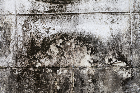 decrepit: Old wall with plaster crashed texture Stock Photo