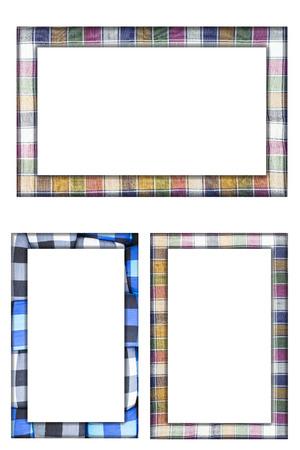 Colorful Thai loincloth fabric background photo