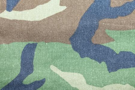 background of soldier green camo pattern Banco de Imagens