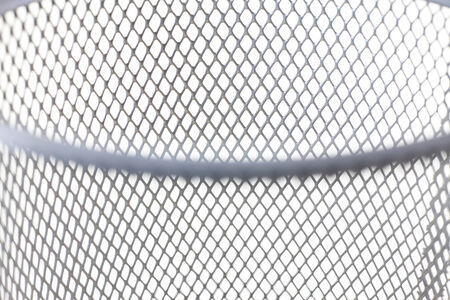 chained link fence: Steel mesh background