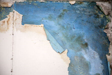 Peeling paint on wall seamless texture. photo