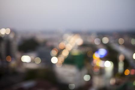 railway points: defocused photo of night street.