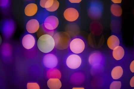 vivid colors: Defocused bokeh colorful lights.
