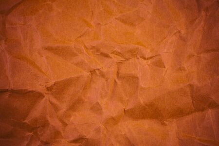worn structure red: Red crumpled paper texture. Stock Photo