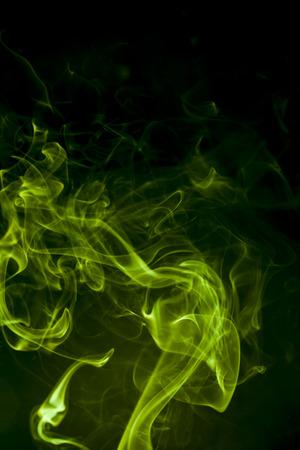 Green smoke Banco de Imagens