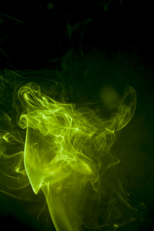 green smoke: Green smoke Stock Photo