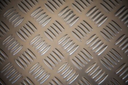 non: Stainless steel with non slip pattern.