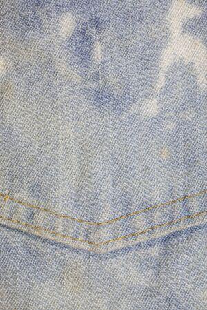 rend: Pocket blue jeans textured background.