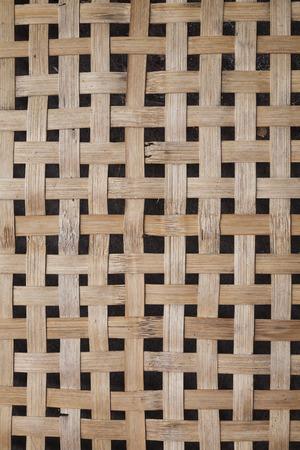 osier: Thai threshing basket background texture.