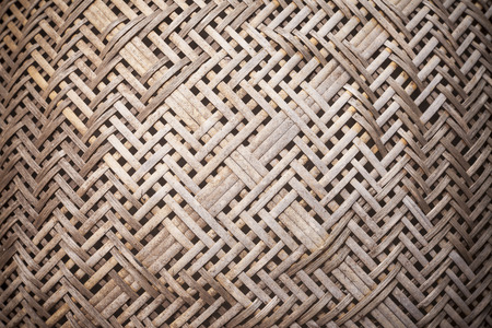 osier: Thai threshing basket background texture.