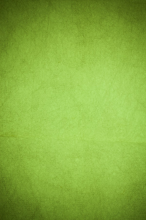 mulberry paper: Handmade mulberry paper Green  color.