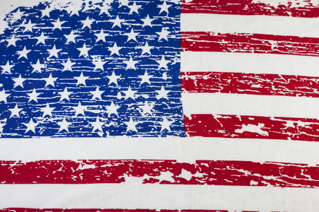 Amerikanische Flagge Vintage Hintergrund. Standard-Bild - 41624568