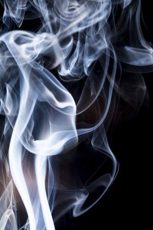 White smoke Banco de Imagens