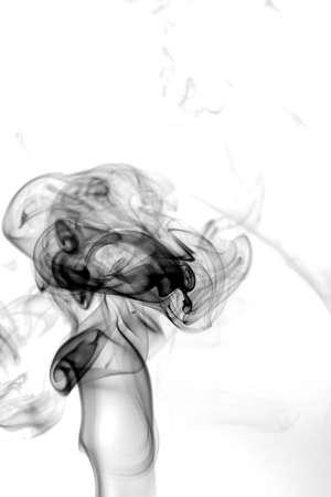 fumes: Toxic fumes movement. Stock Photo