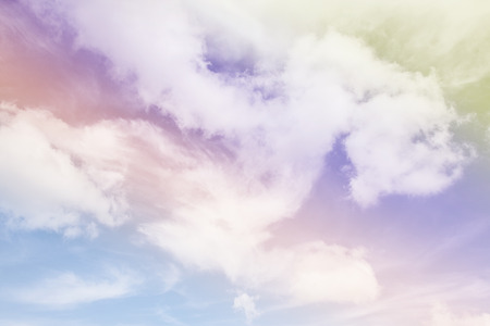Colorful sky and clouds. Banco de Imagens