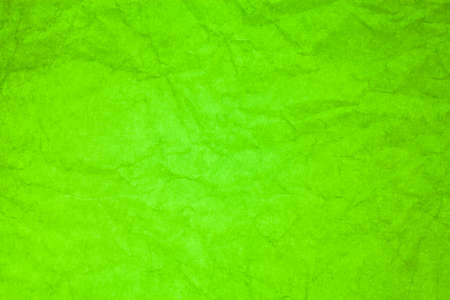 green background texture: Green paper crumpled texture background. Stock Photo