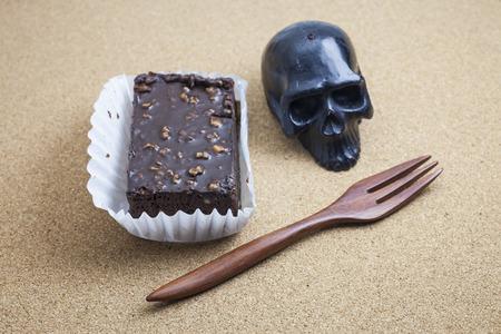 brownie: Chocolate Brownie.